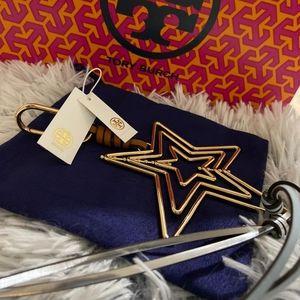 Tori Burch Star Key Fob